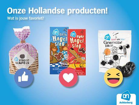 Onze Hollandse producten