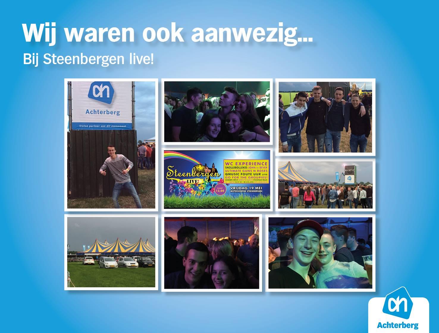 Wij waren ook aanwezig bij Steenbergen Live!