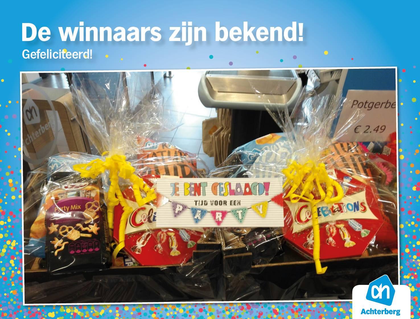 De winnaars zijn bekend! Gefeliciteerd!