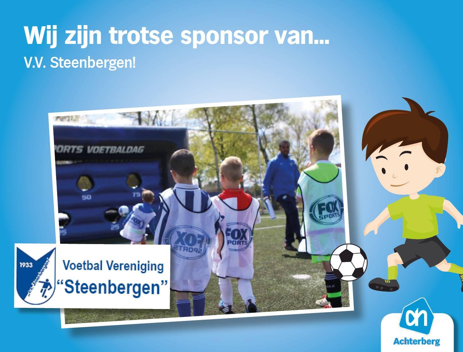 Wij zijn trotse sponsor van…