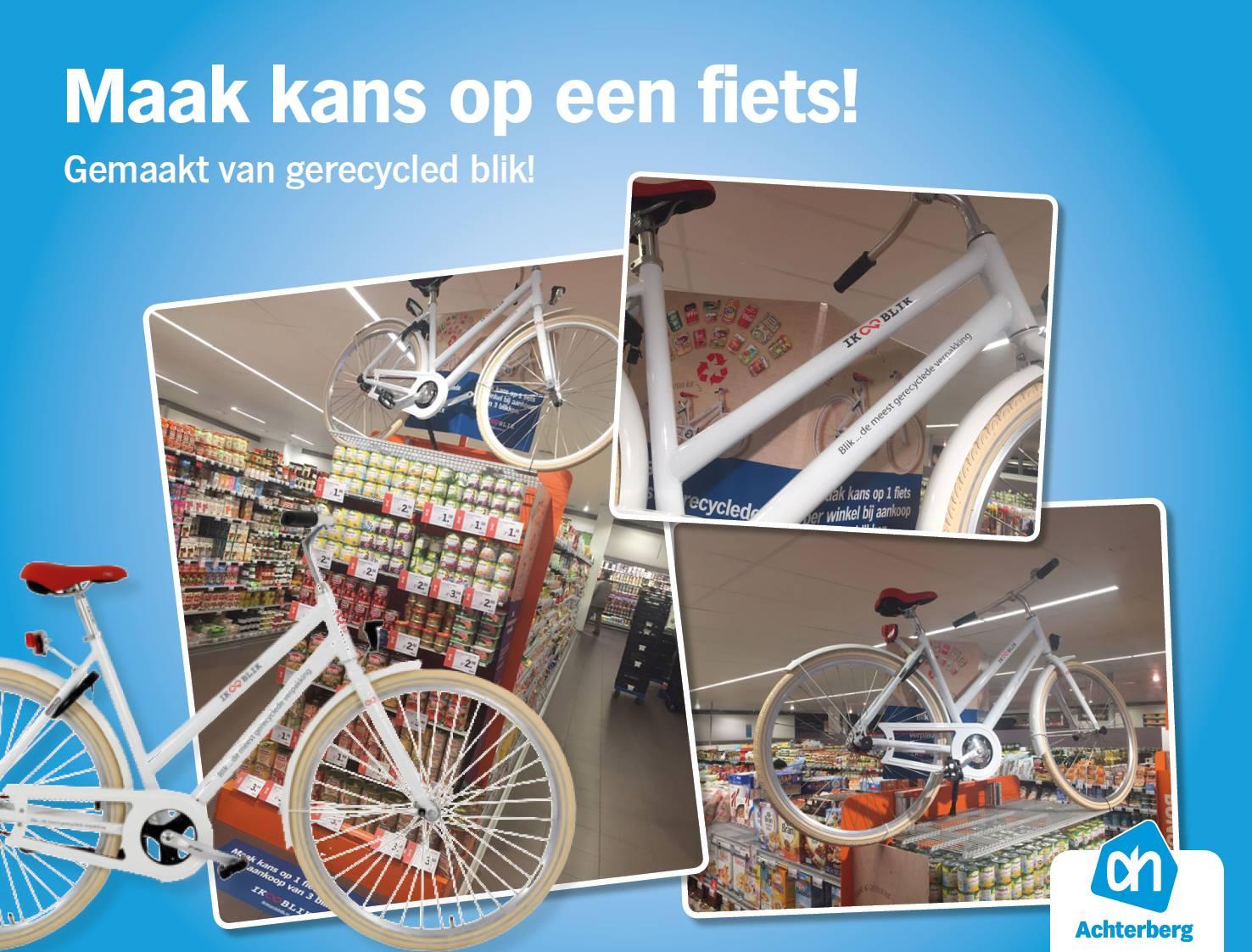 Maak kans op een fiets!