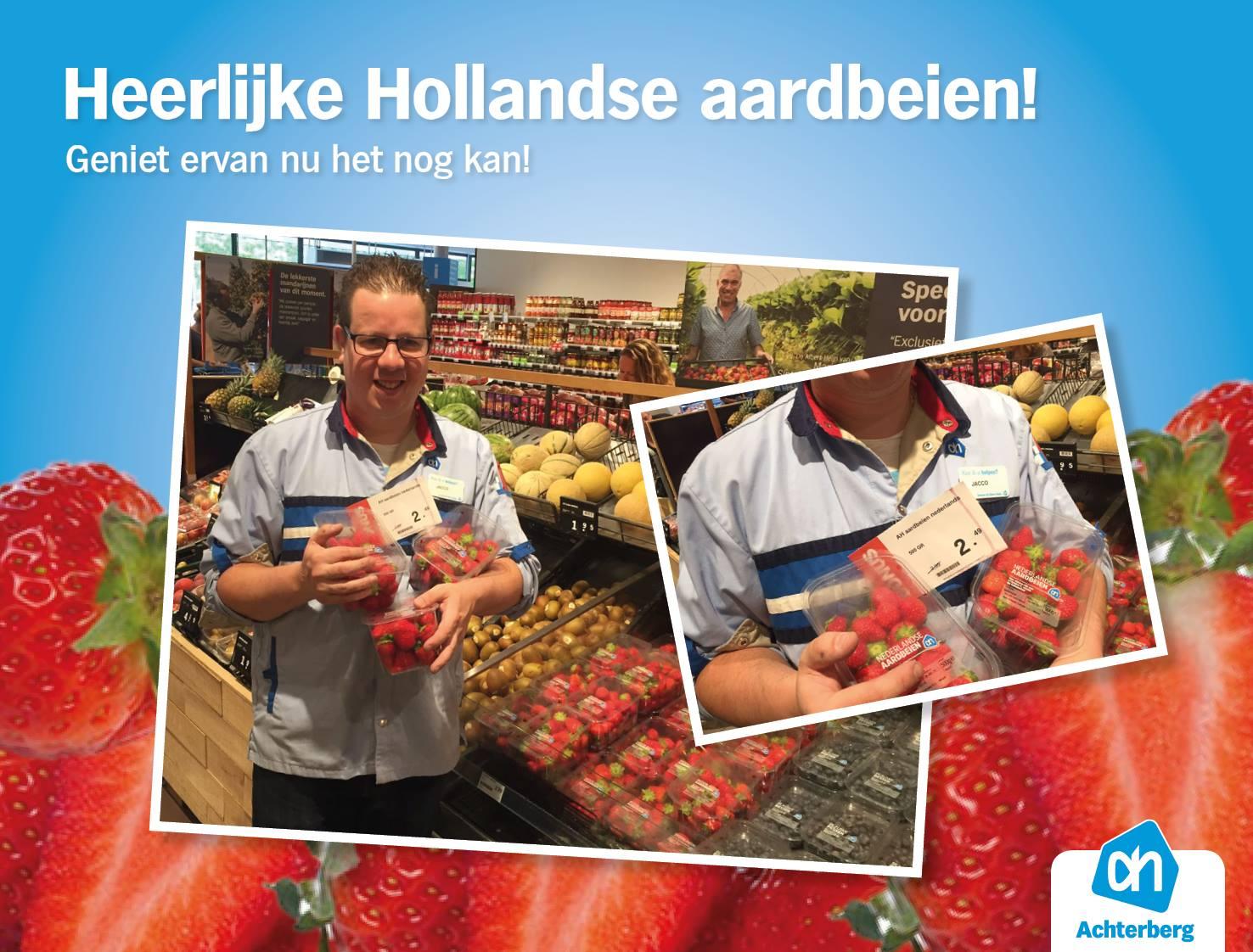 Heerlijke Hollandse aardbeien!
