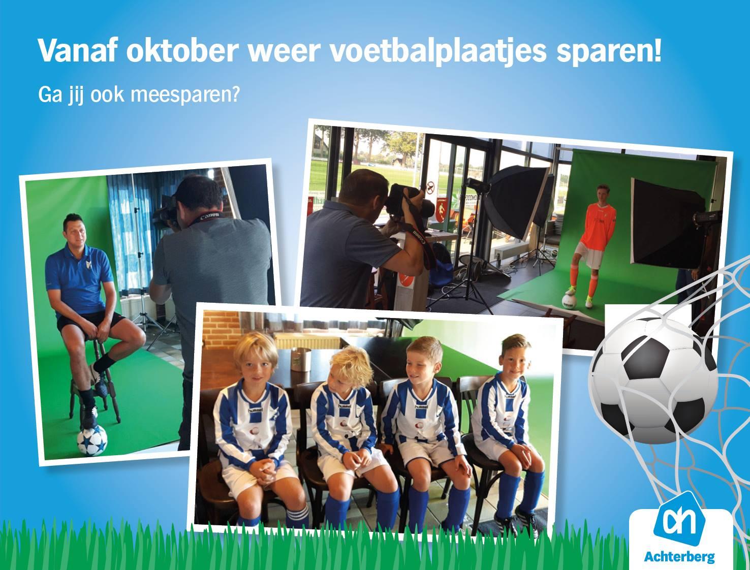 Vanaf oktober weer voetbalplaatjes sparen!