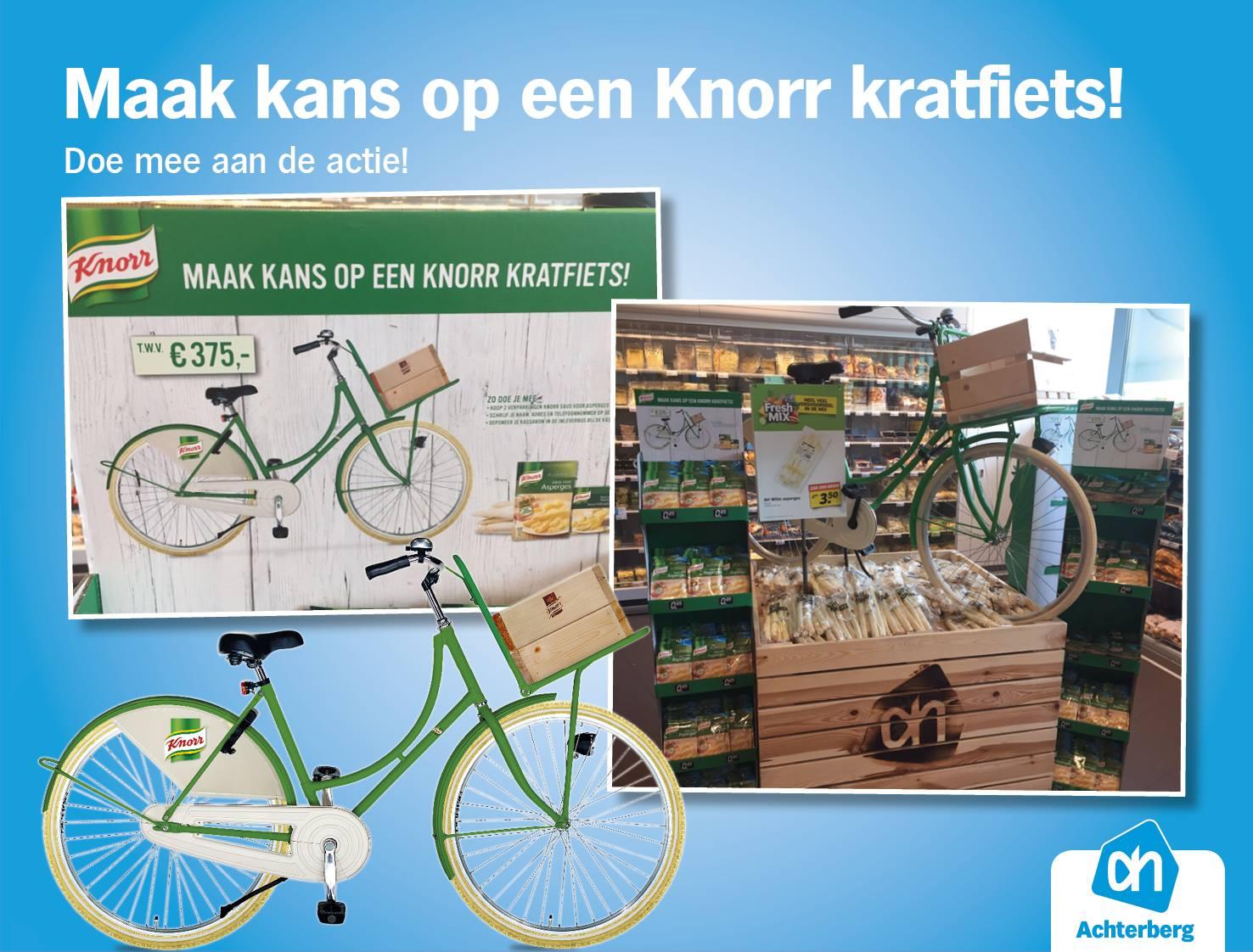 Maak kans op een Knorr kratfiets!