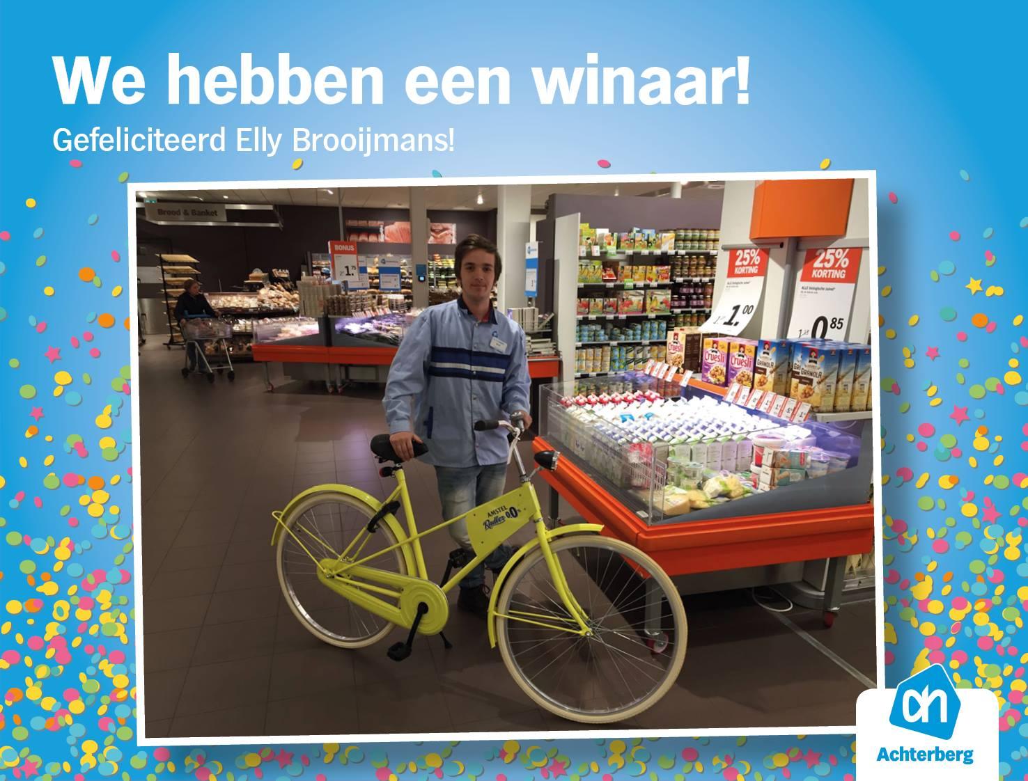 Winnaar Amstel Radler 0.0% fiets