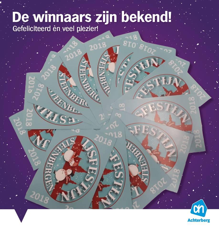 Winnaars vrijkaarten IJsfestijn zijn bekend!
