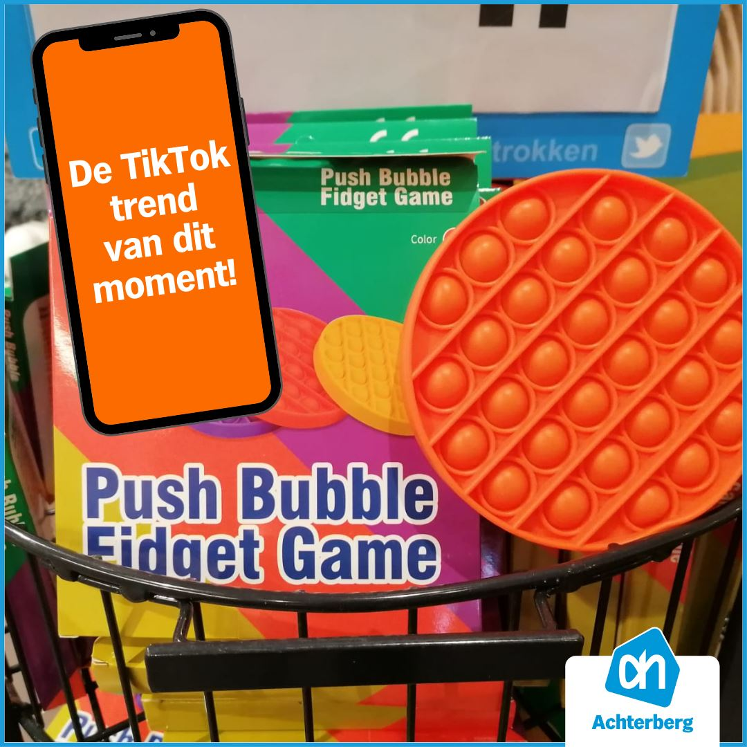 Push Bubble Fidget Game!