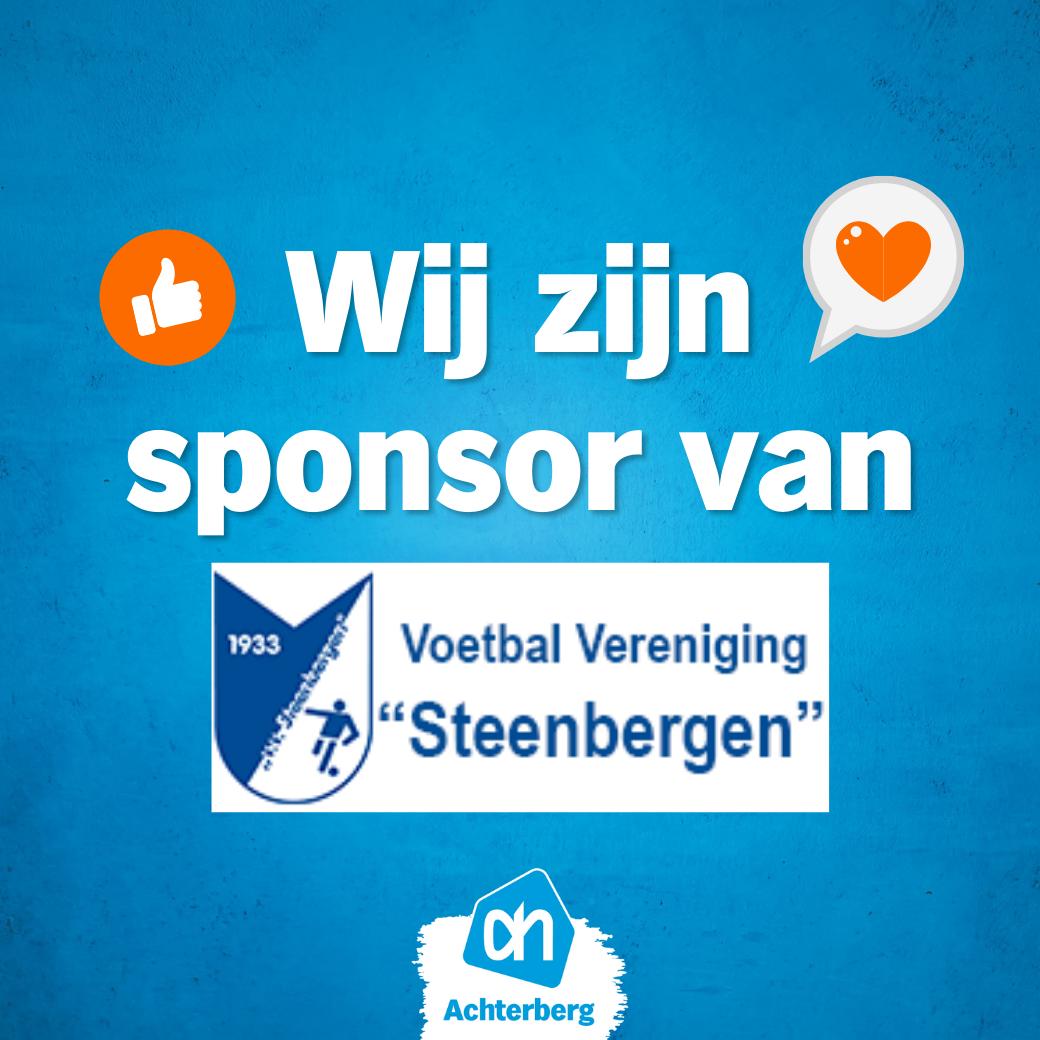 Hoofdsponsor VV Steenbergen!