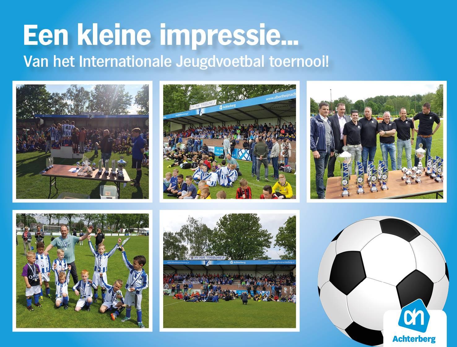 Een impressie van het Internationale Jeugdvoetbal toernooi