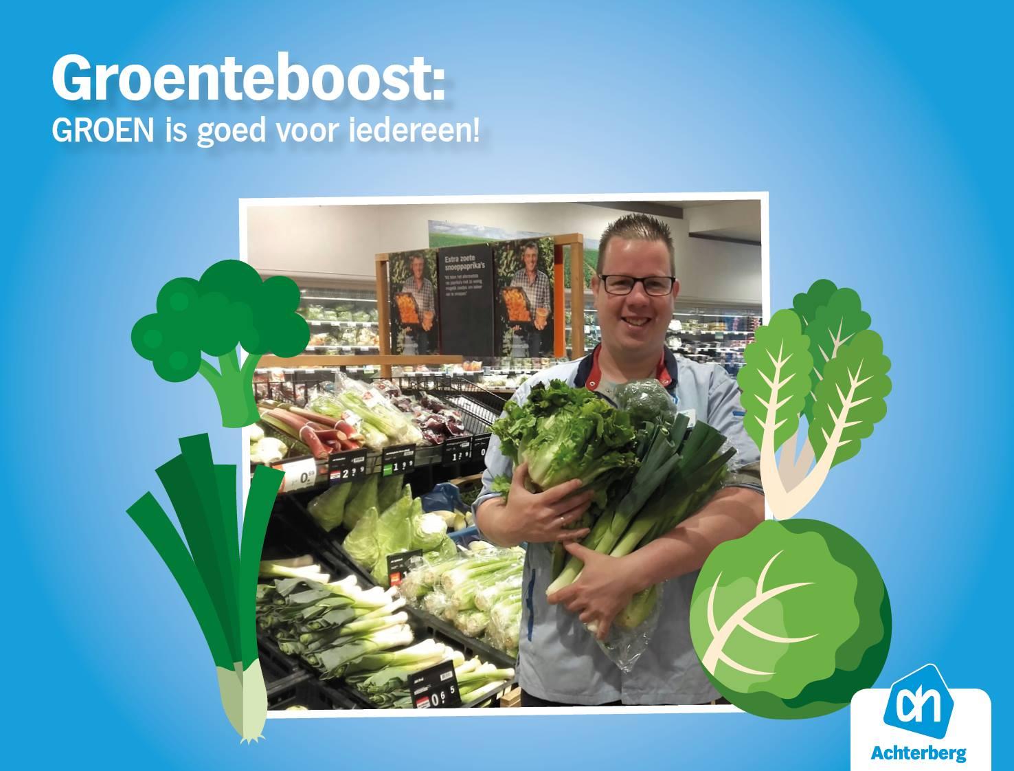 Groenteboost: GROEN is goed voor iedereen!