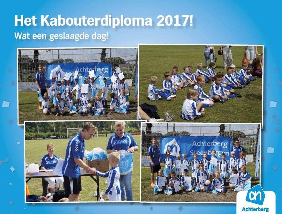 Het Kabouterdiploma 2017… Wat een geslaagde dag!