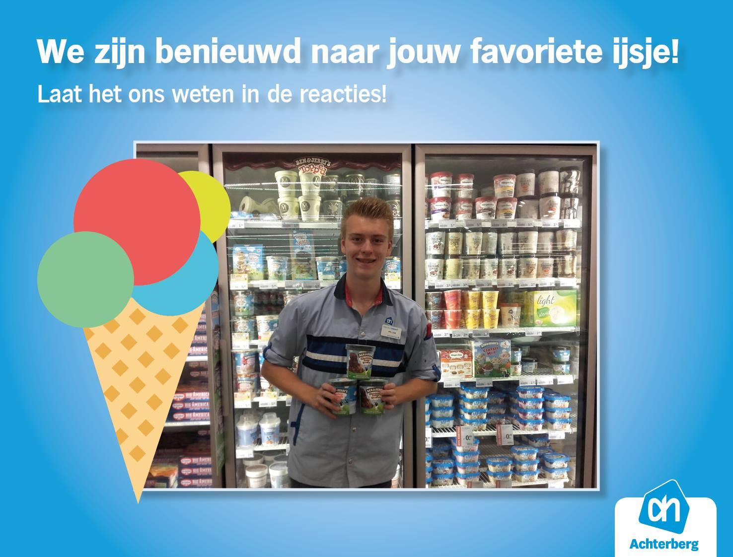 We zijn benieuwd naar jouw favoriete ijsje!