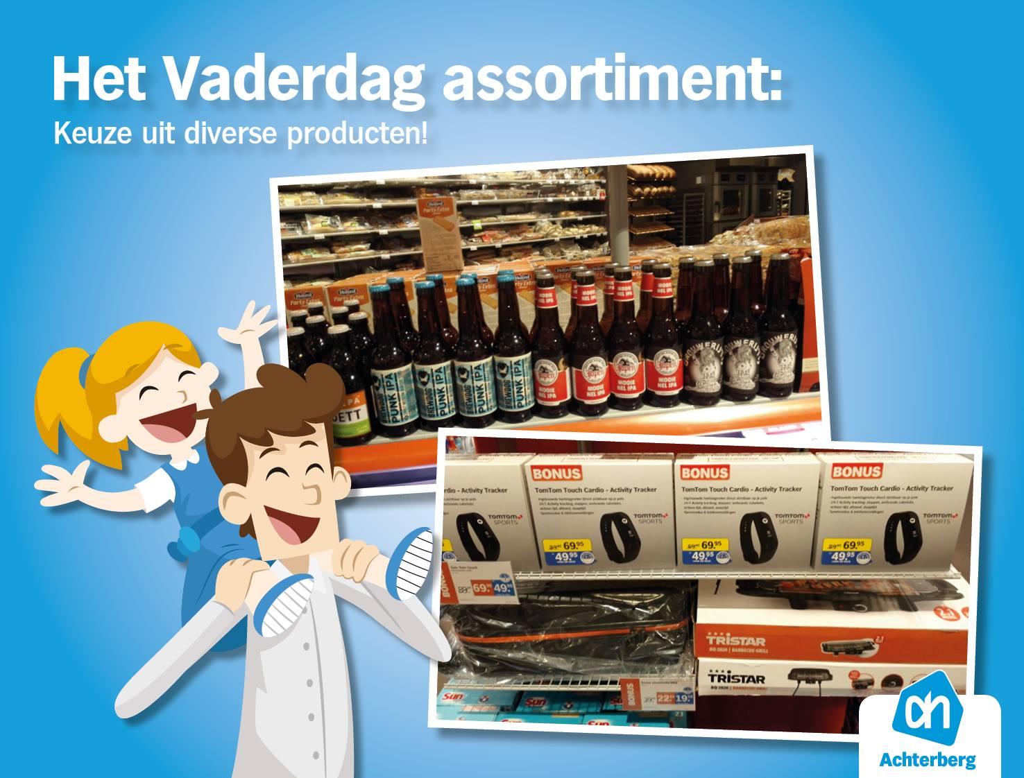 Het Vaderdag assortiment: Keuze uit diverse producten!