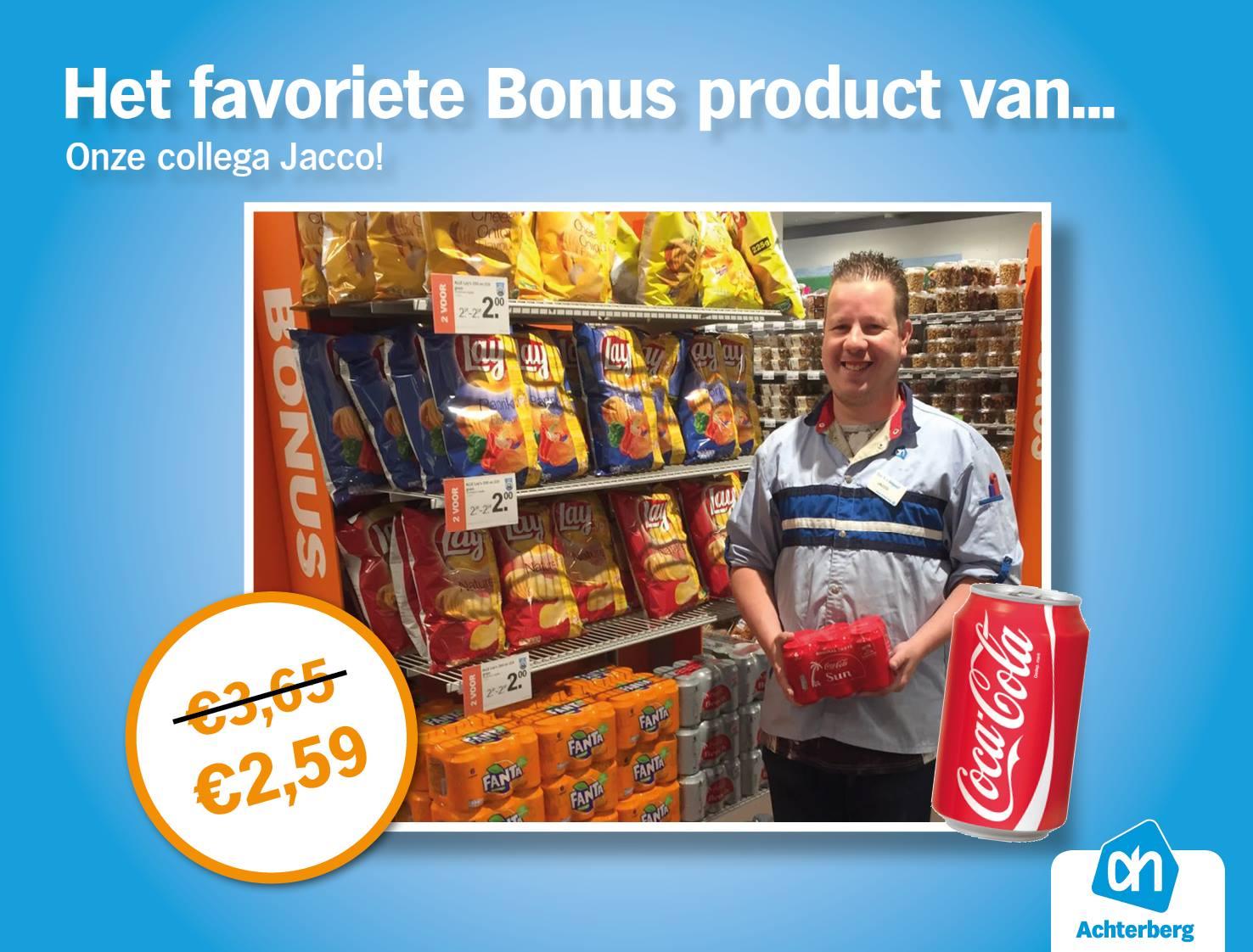 Het favoriete Bonus product van… Onze collega Jacco!