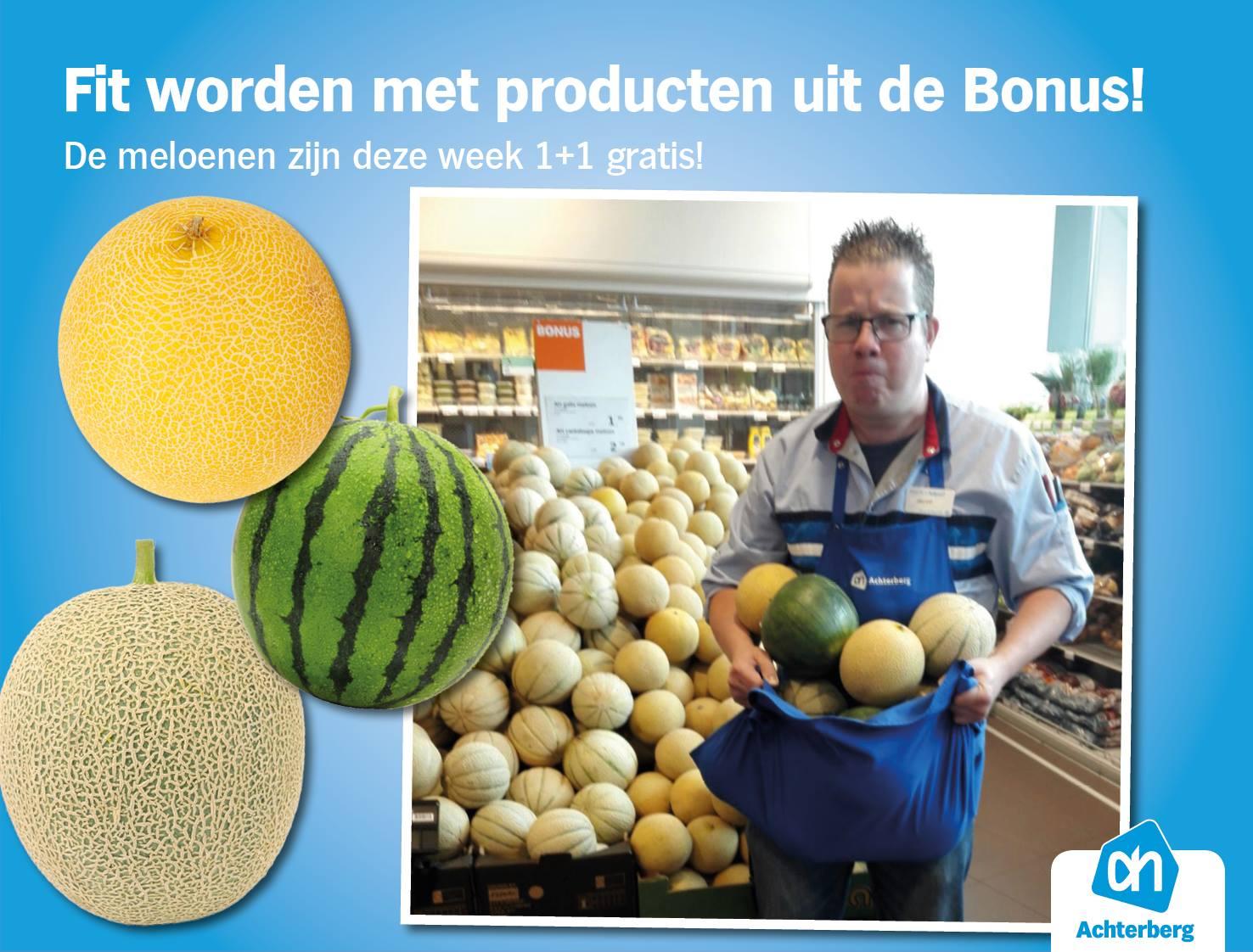 Fit worden met producten uit de Bonus; een workout met meloenen!
