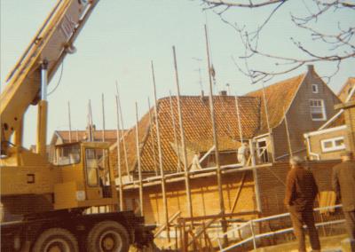 Verbouwing Dorpsstraat, +/- 1974
