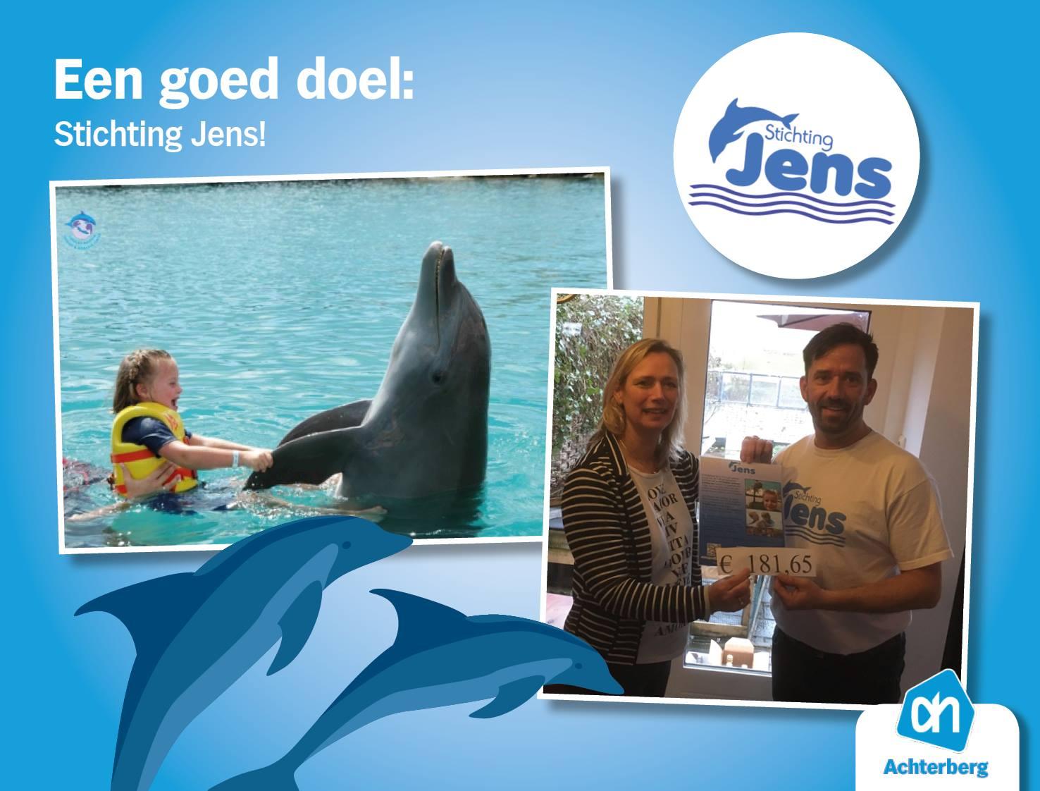 Een goed doel: Stichting Jens!