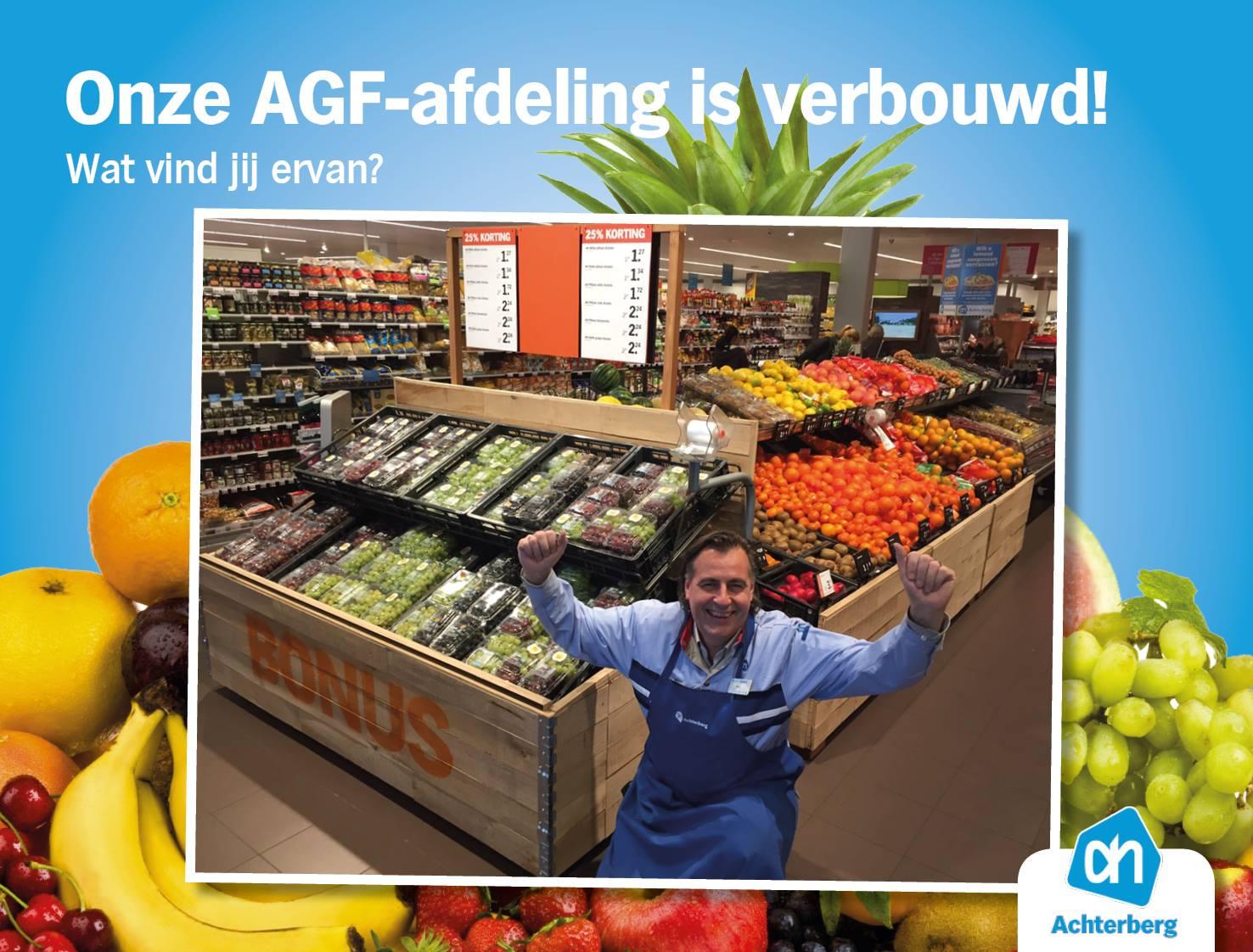 We hebben de AGF-afdeling verbouwd!