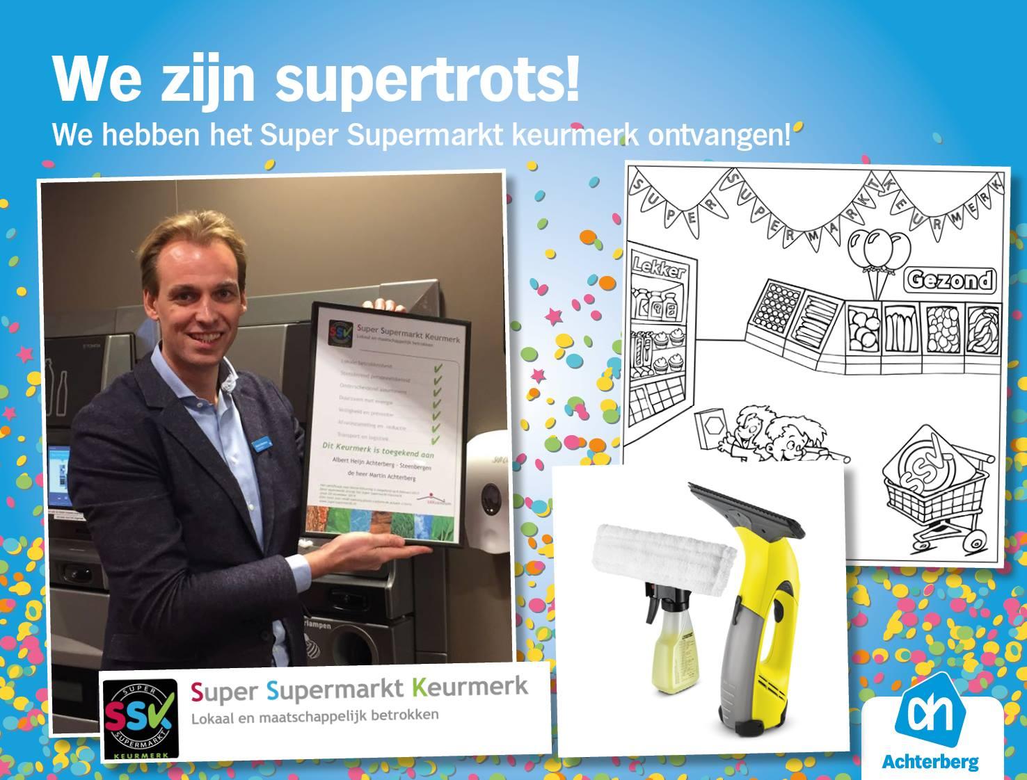 Super Supermarkt Keurmerk Winacties