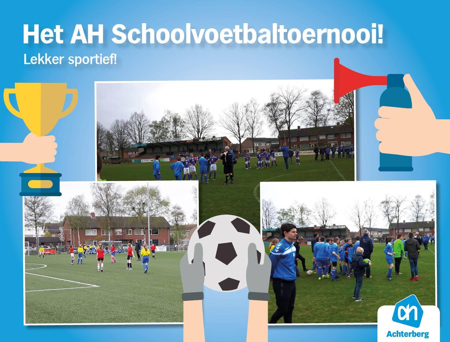 Het Albert Heijn Schoolvoetbaltoernooi