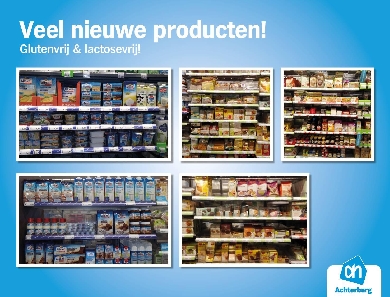 Veel nieuwe producten!