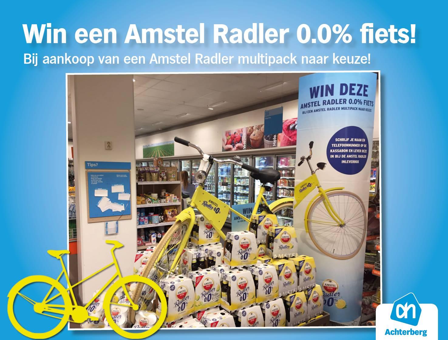 Win een Amstel Radler fiets