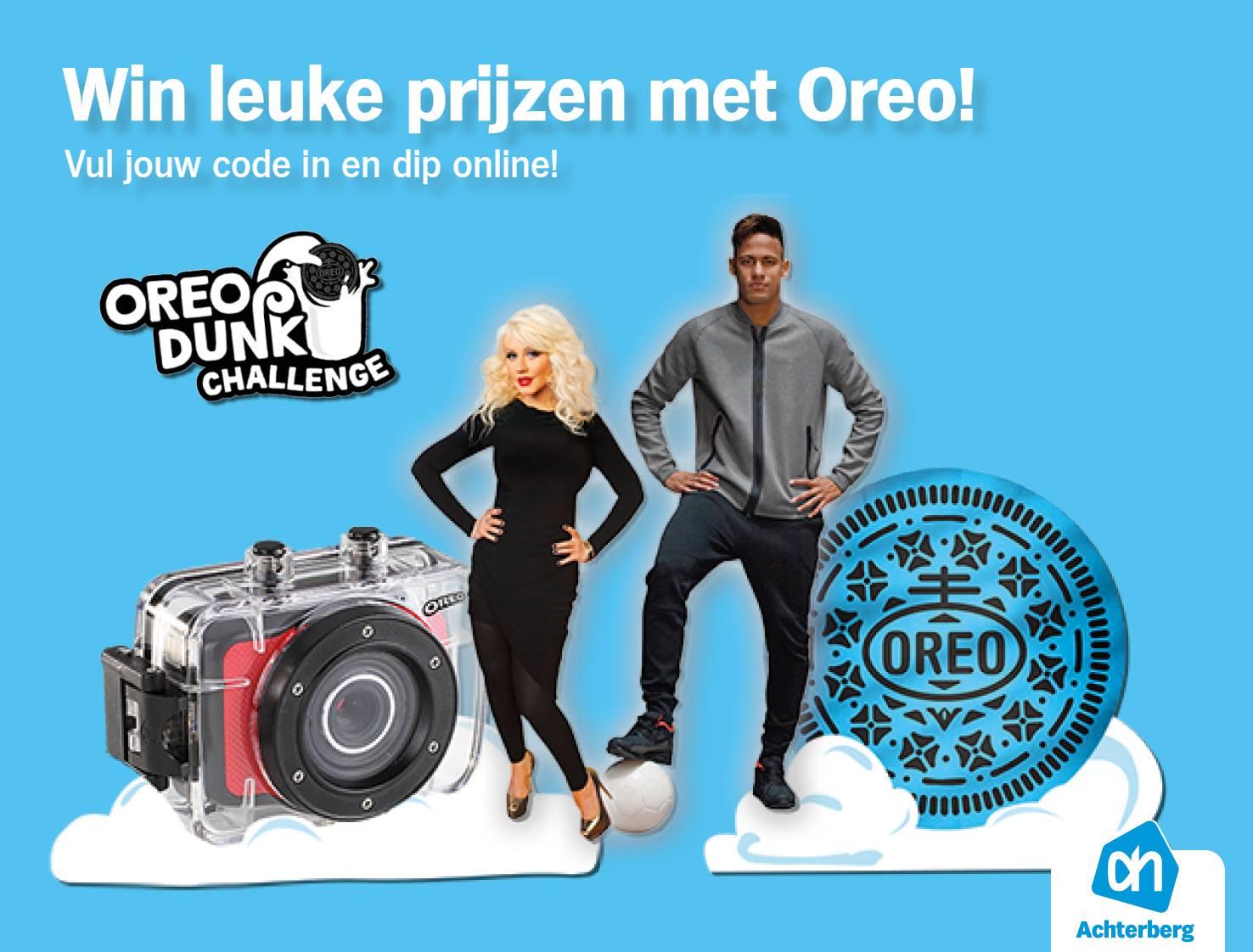 Win leuke prijzen met Oreo!