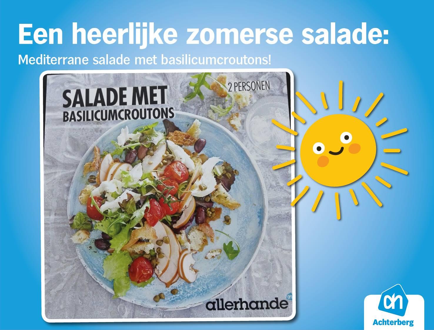 Tip: een heerlijke zomerse salade
