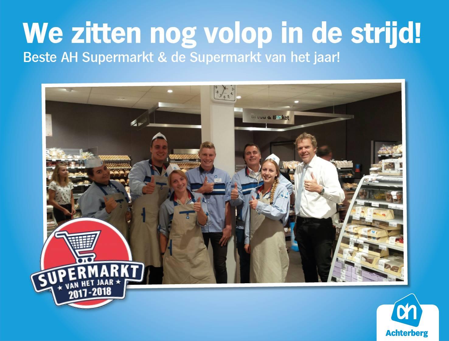 Nog steeds in de race voor Supermarkt van het Jaar!