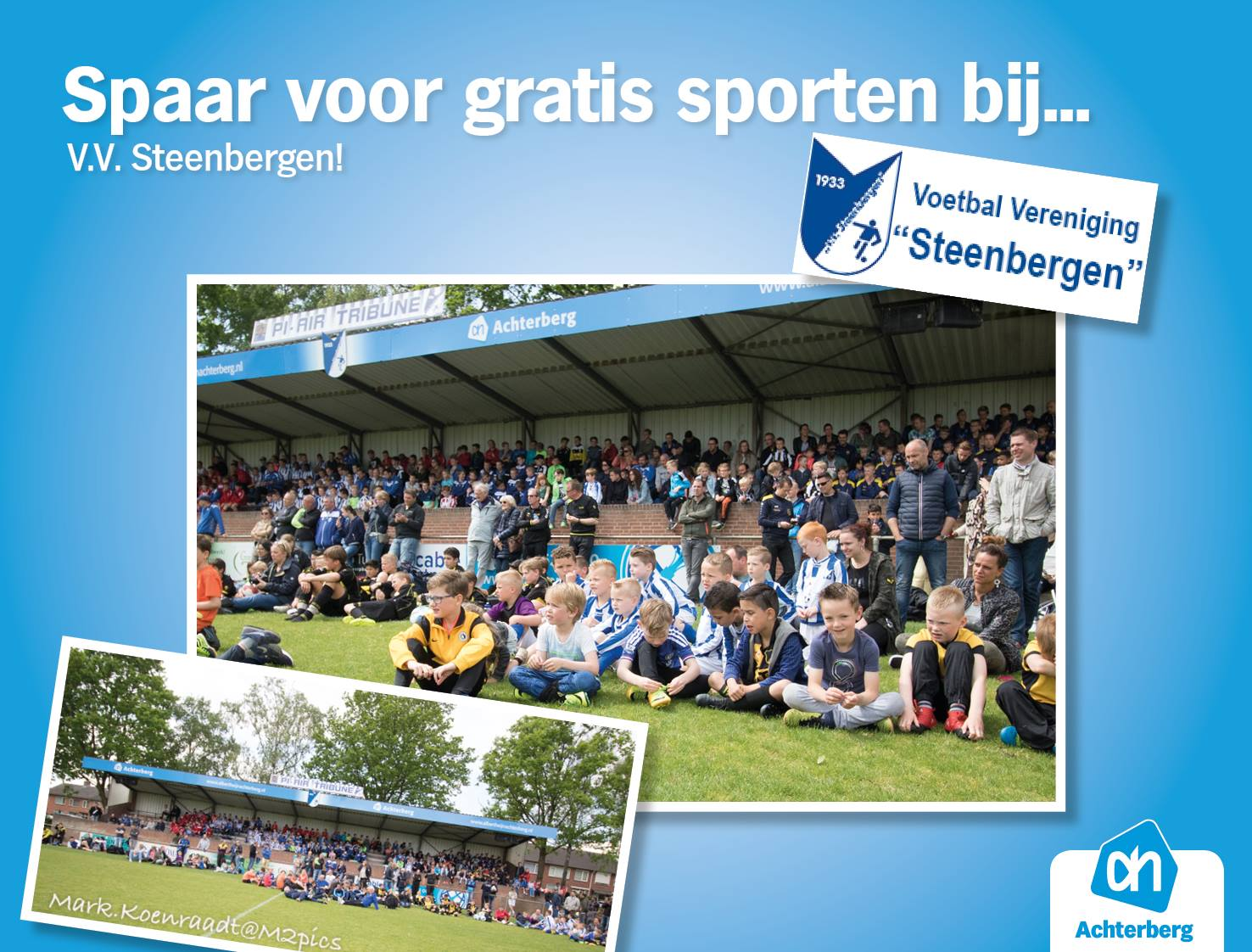 5 x gratis sporten bij V.V. Steenbergen!