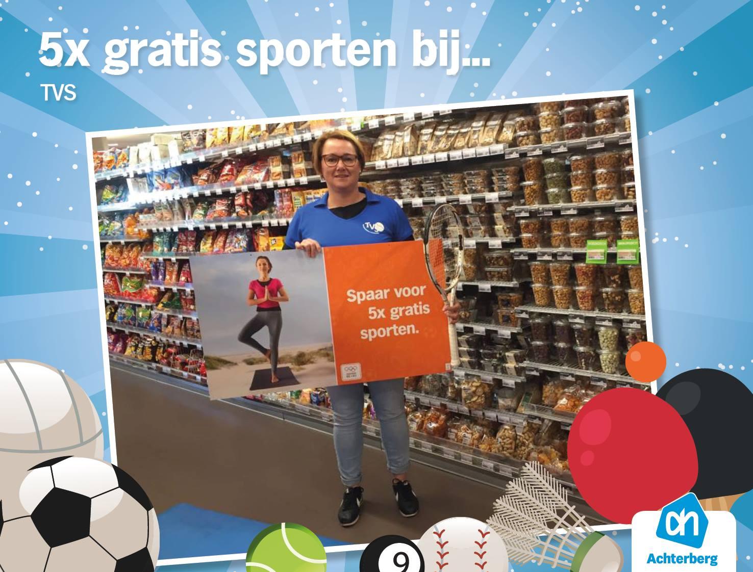 U kunt ook sparen voor sporten bij Tennisvereniging Steenbergen!
