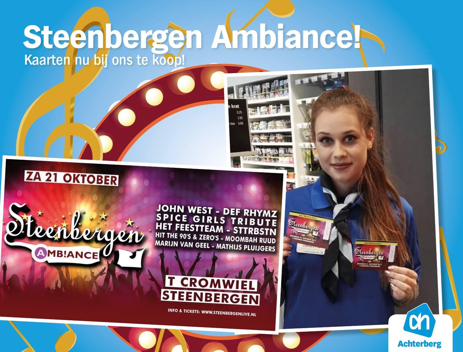 Kaarten voor Steenbergen Ambiance nu bij ons te koop!
