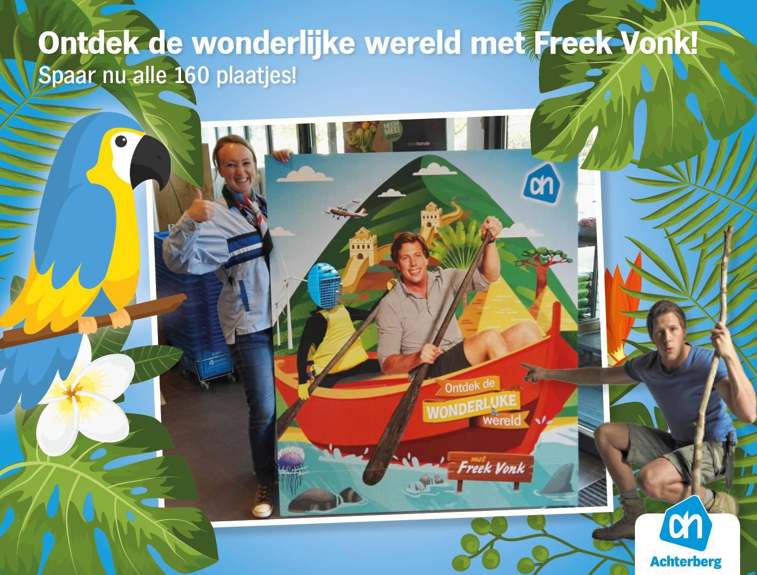 Ontdek de wonderlijke wereld met Freek Vonk!