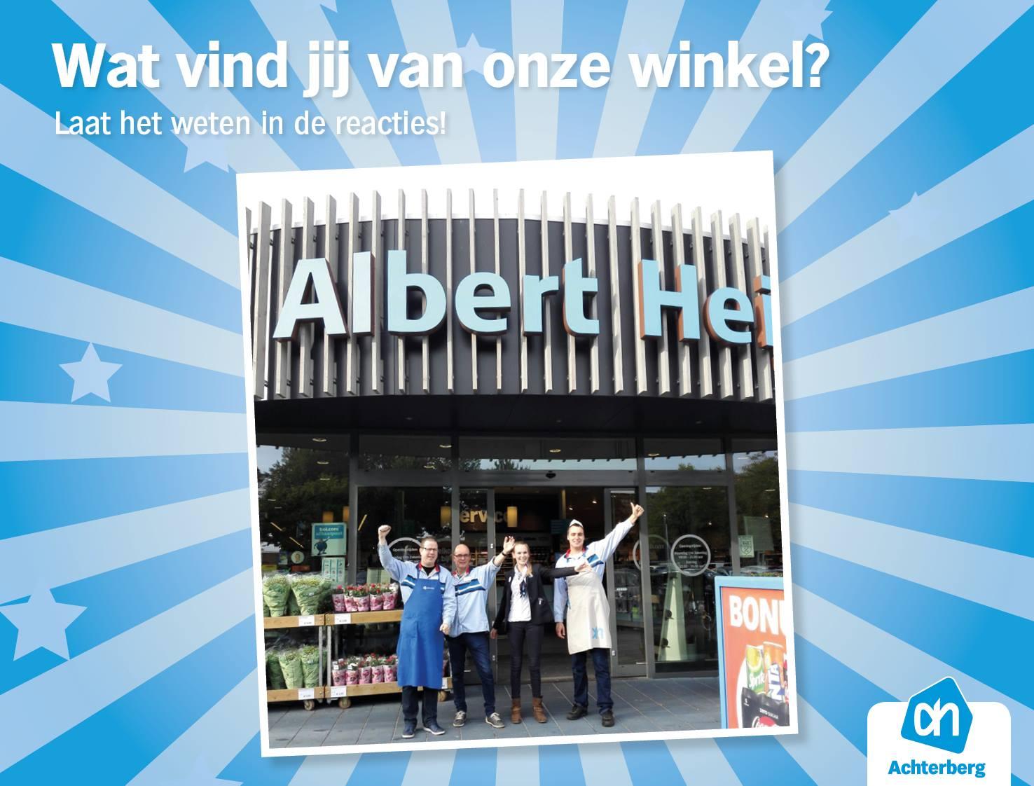 Wat vind jij van onze winkel?