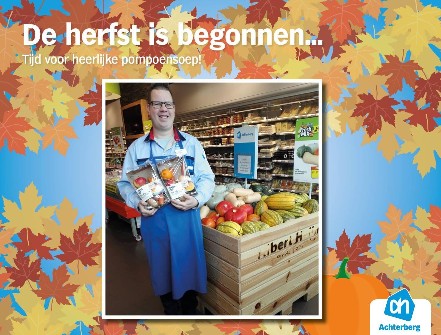 De herfst is begonnen… Tijd voor heerlijke pompoensoep!