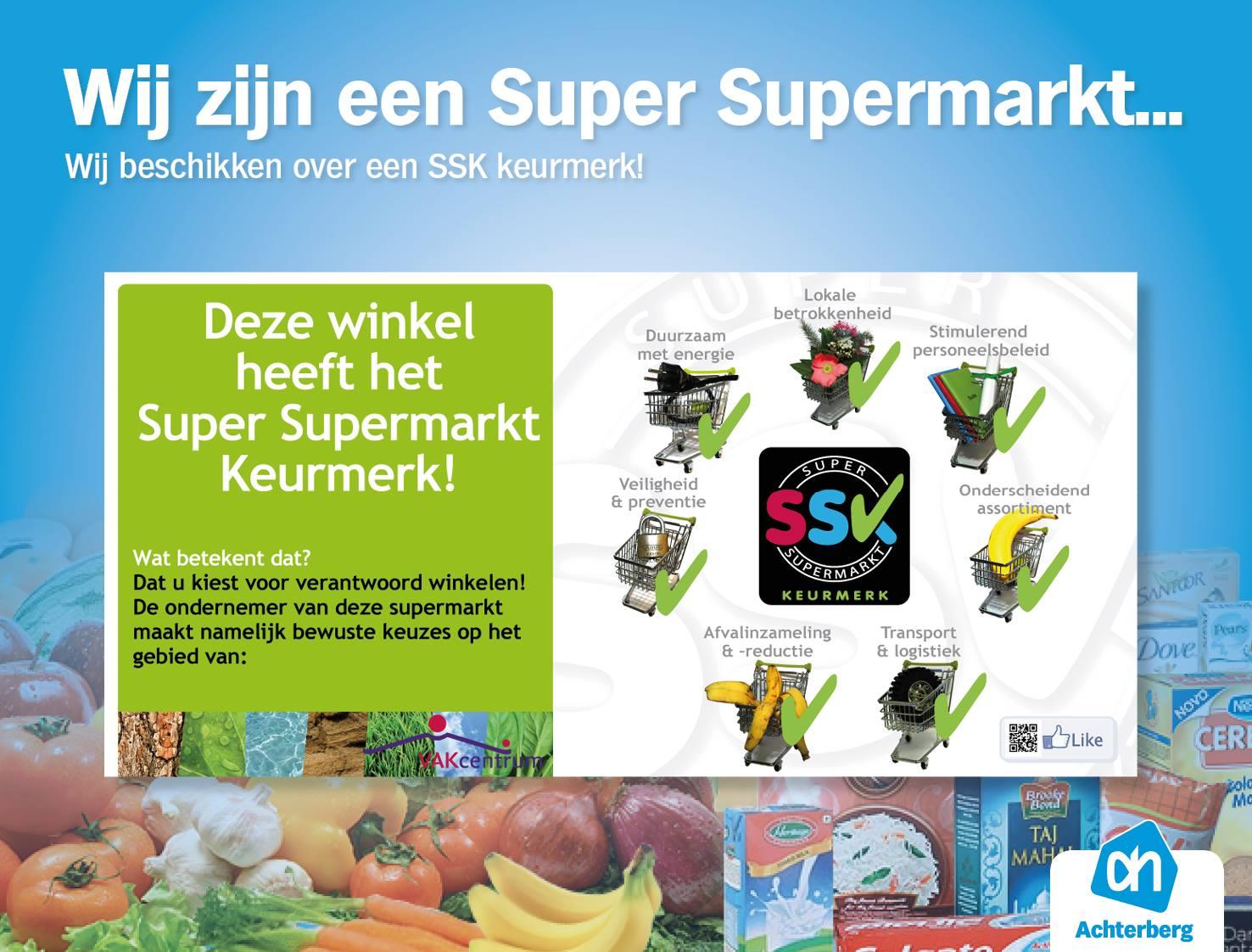 Wij zijn een super supermarkt…