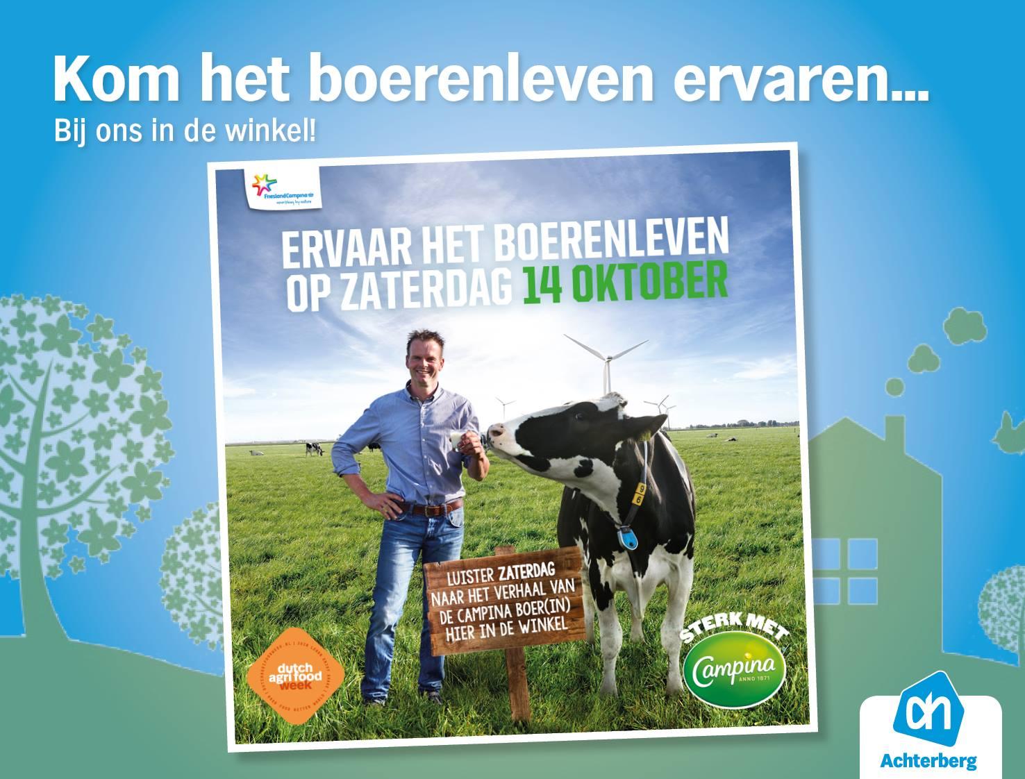 Kom het boerenleven ervaren bij ons in de winkel!