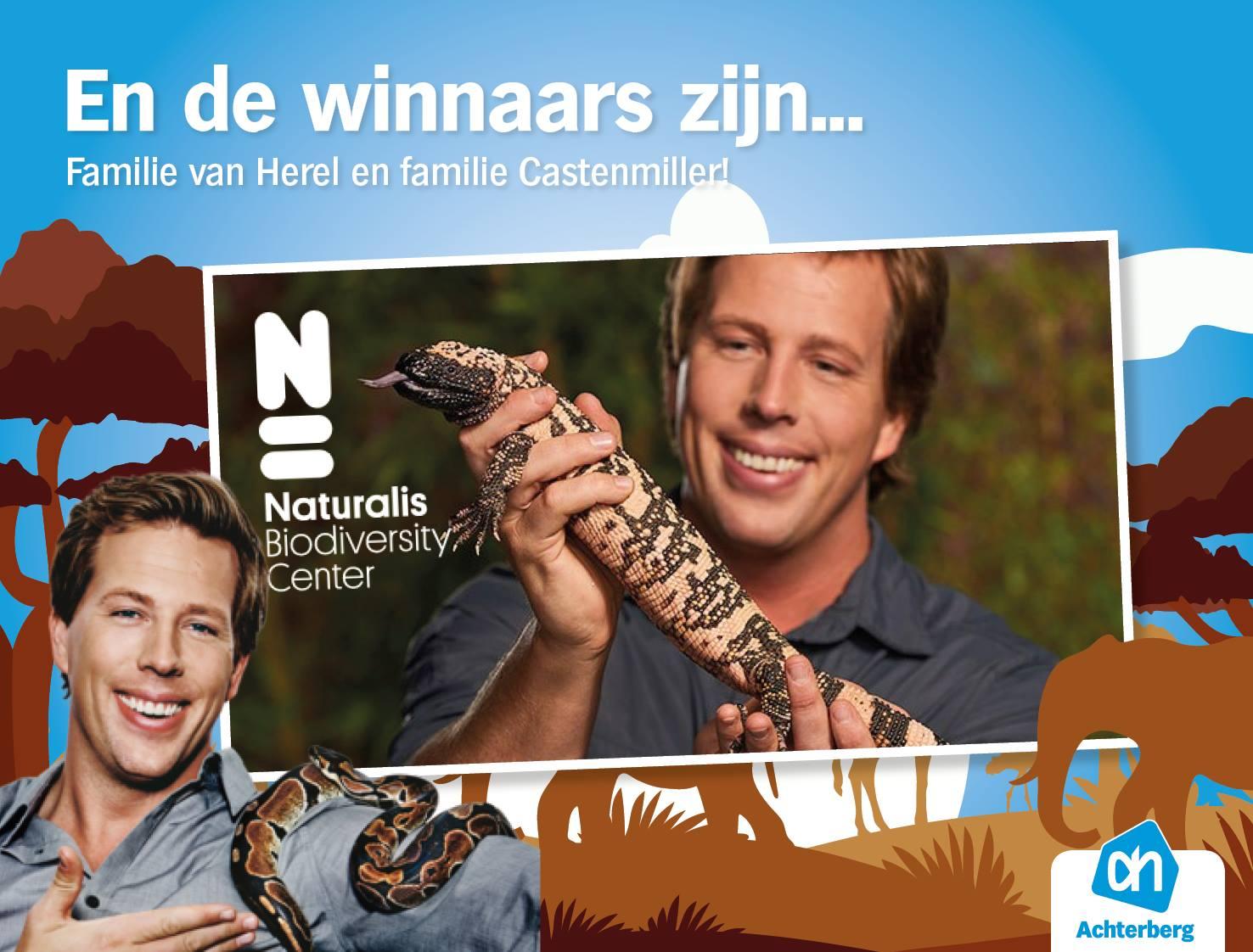 De winnaars van de kaarten voor Naturalis zijn bekend!