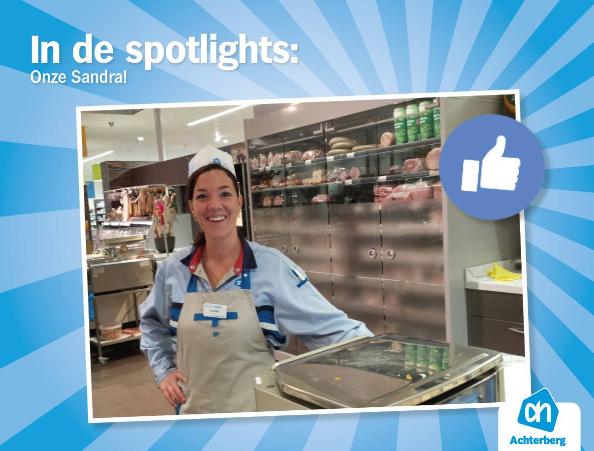In de spotlights: Onze Sandra!