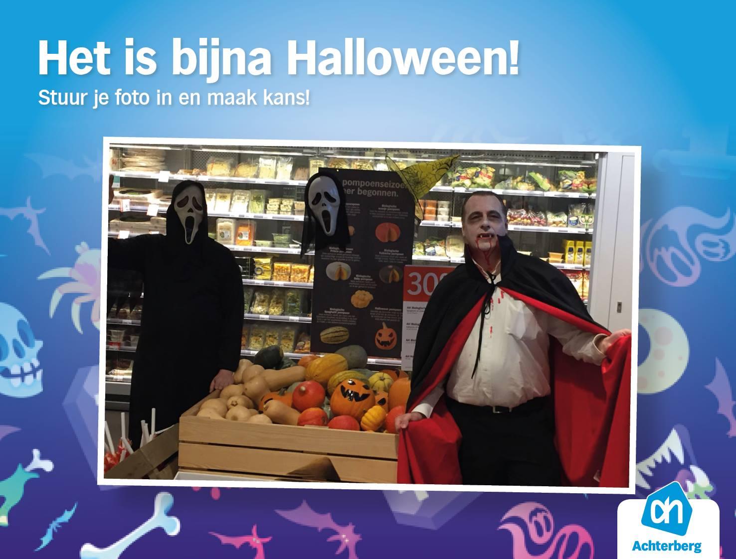 Het is bijna Halloween!