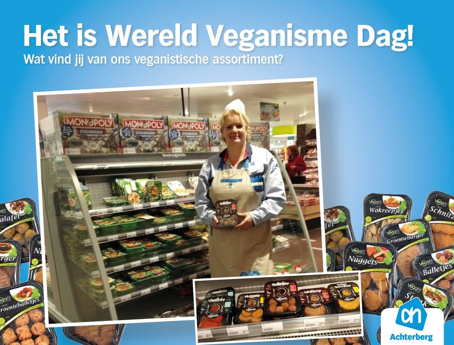 Het is Wereld Veganisme Dag!