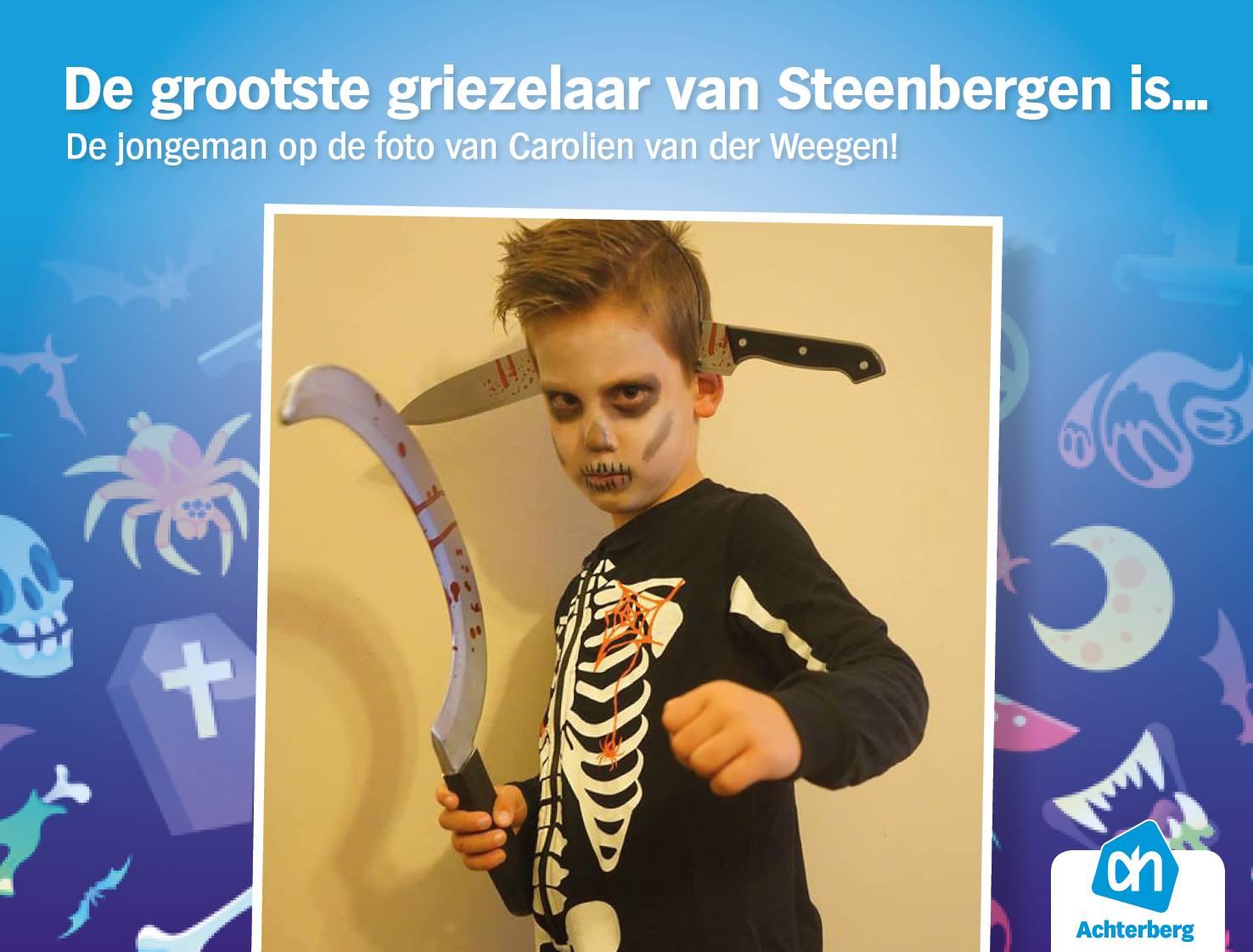 En de grootste griezelaar van Steenbergen is…