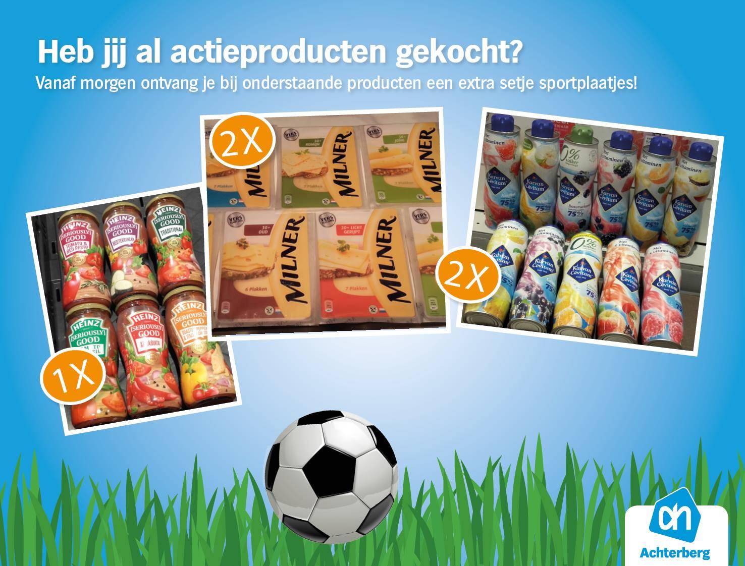 Heb jij al actieproducten gekocht?