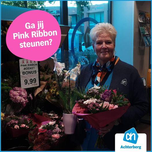 Steun Pink Ribbon met onze boeketten!