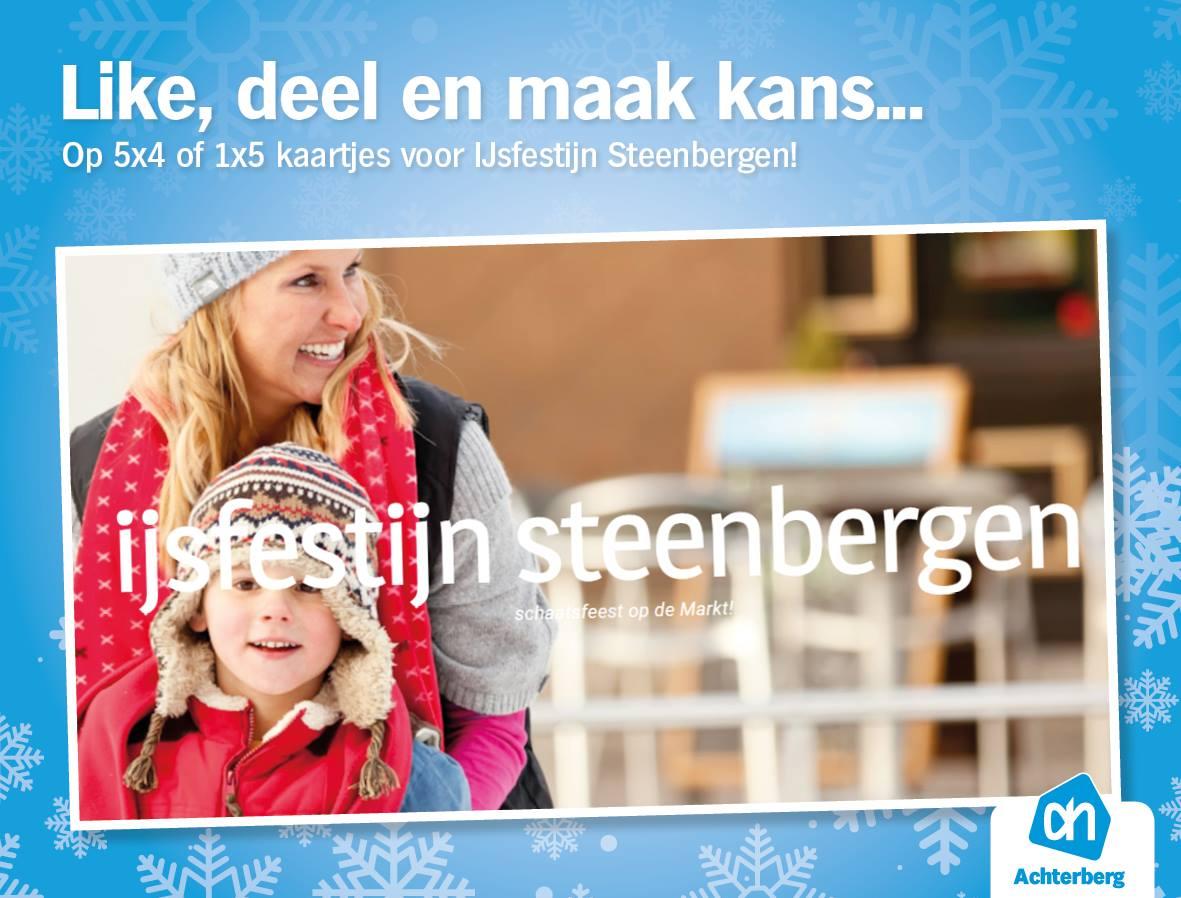 Win kaartjes voor IJsfestijn Steenbergen!