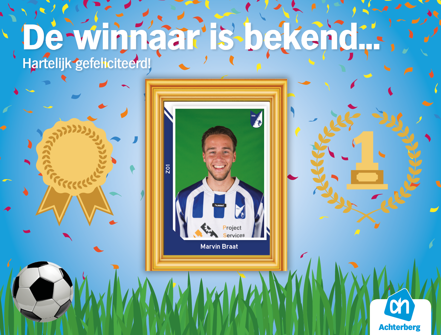 De winnaar is bekend…