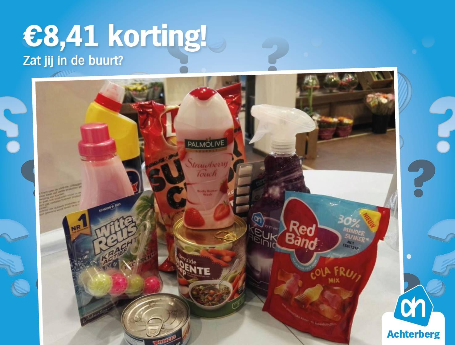 €8,41 Korting!