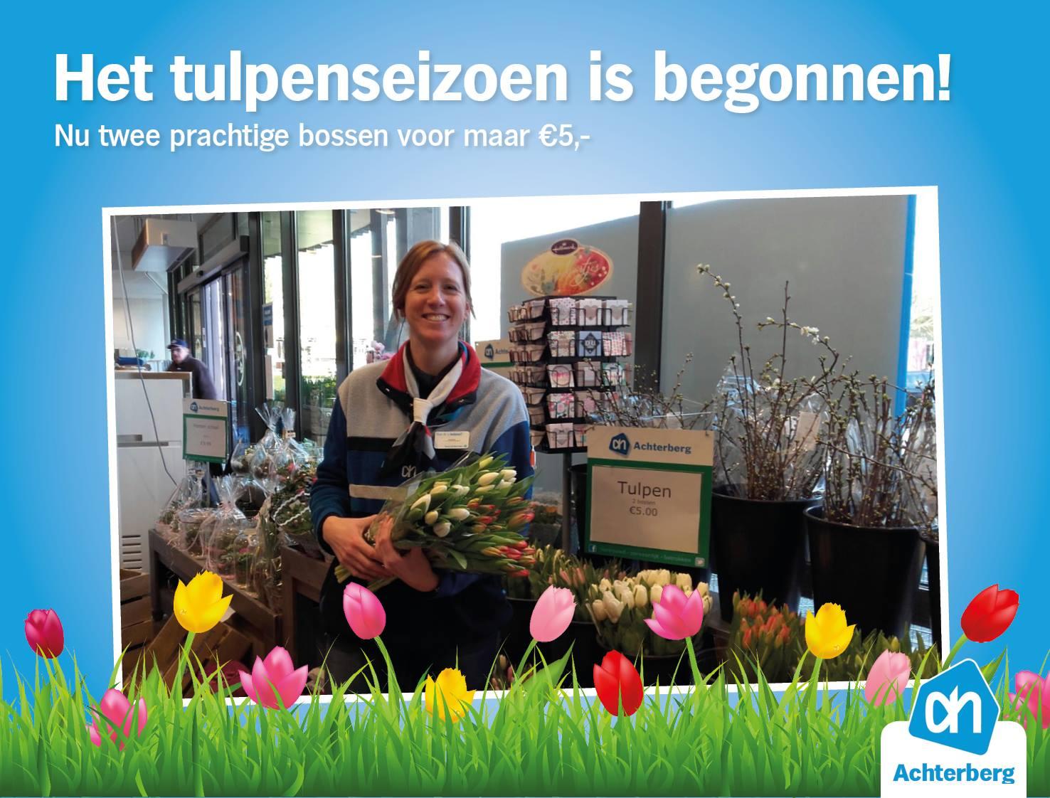 Het tulpenseizoen is begonnen!