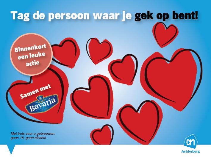 Valentijnsactie: Tag de persoon waar je gek op bent!
