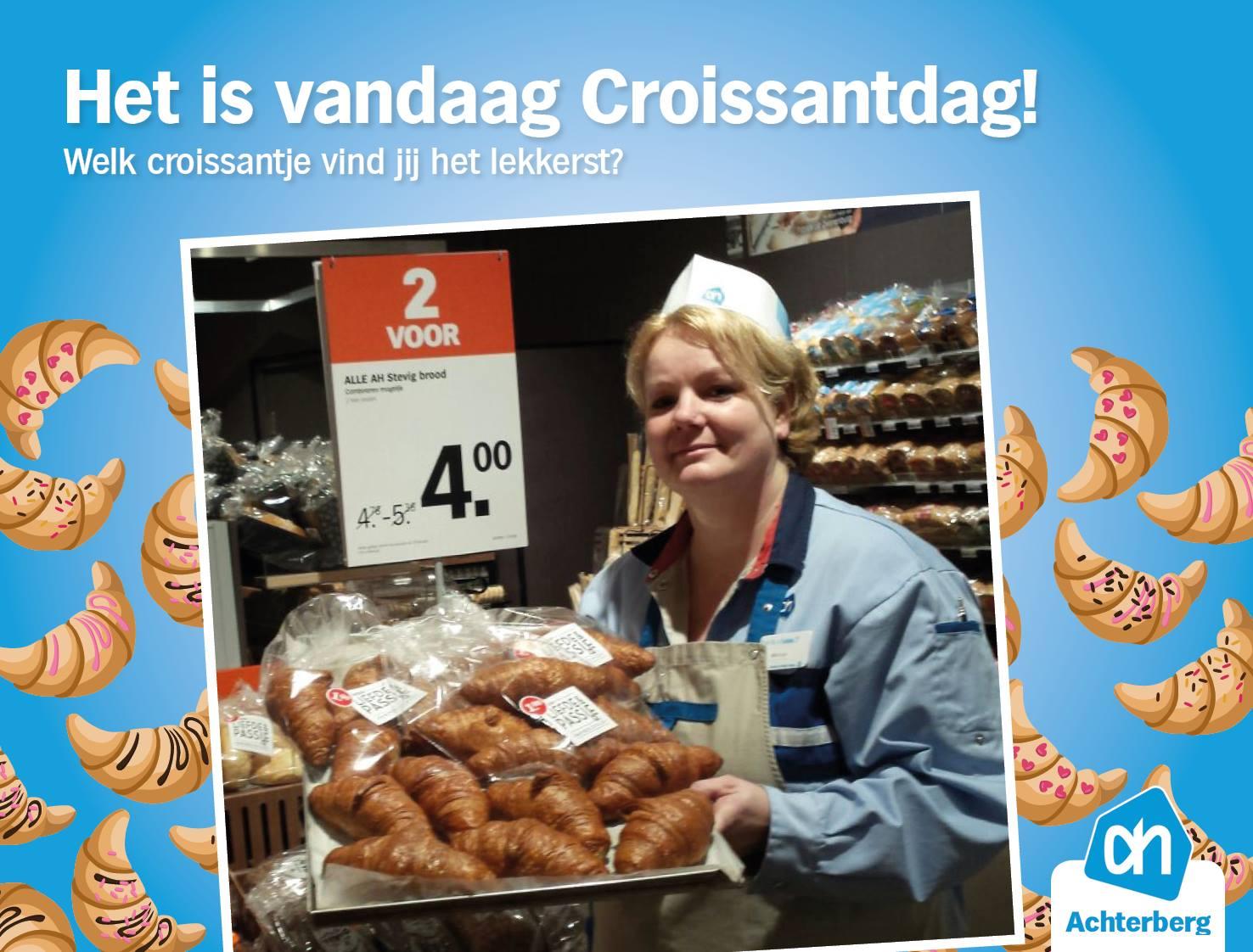Het is vandaag Croissantdag!